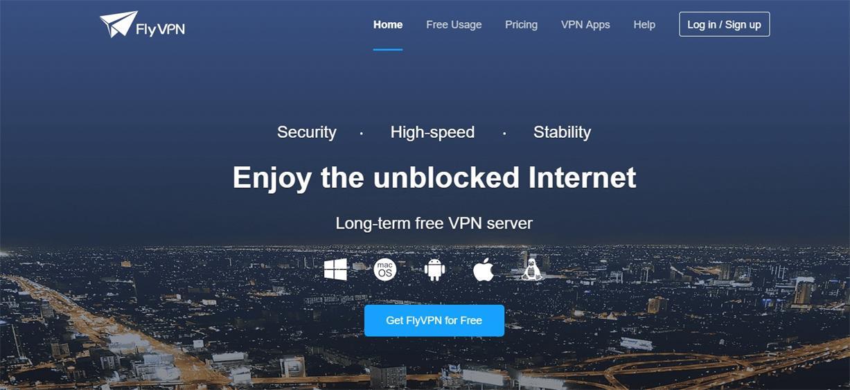 Free Asia VPN - FlyVPN