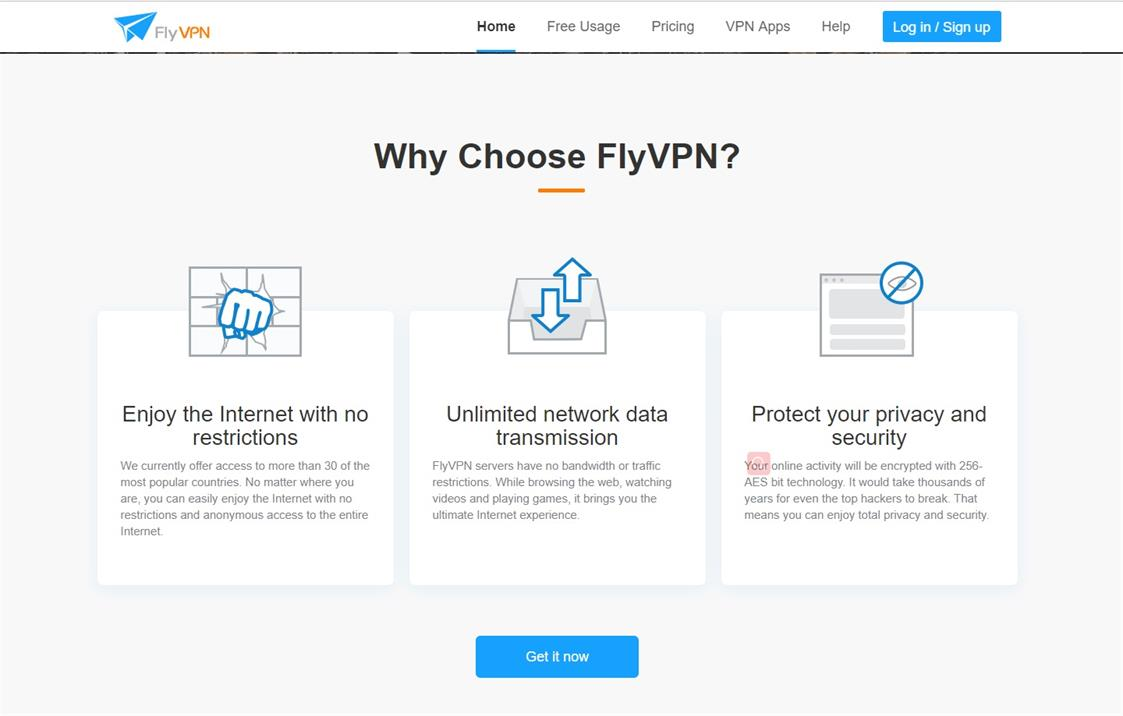 Premium Account - FlyVPN